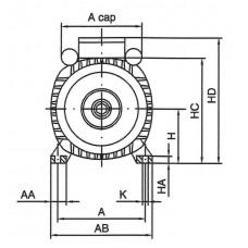 Engine 0.18 kW 230V B3/3000/63