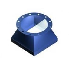 Flexible cuff rectangular / cylindrical