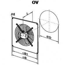 OV 2D 250 Axial Fan