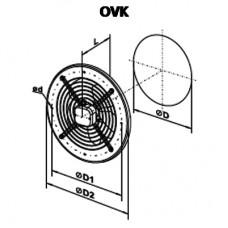 OVK 2D 250 Axial Fan